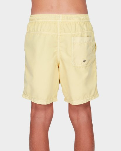 2 TEEN ALL DAY OVERDYE LAYBACK BOARDSHORT Yellow 8572439 Billabong