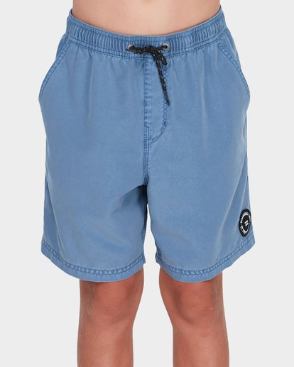 0 TEEN ALL DAY OVERDYE LAYBACK BOARDSHORT Blue 8572439 Billabong
