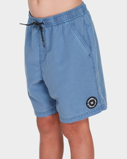 1 TEEN ALL DAY OVERDYE LAYBACK BOARDSHORT Blue 8572439 Billabong