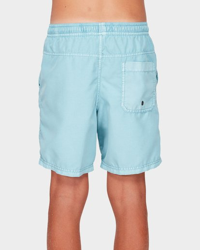 2 BOYS ALL DAY OVERDYE LAYBACK BOARDSHORTS Blue 8572439 Billabong