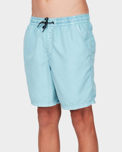 1 BOYS ALL DAY OVERDYE LAYBACK BOARDSHORTS Blue 8572439 Billabong