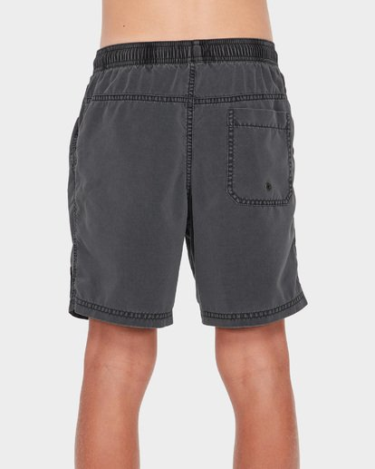 2 TEEN ALL DAY OVERDYE LAYBACK BOARDSHORT Black 8572439 Billabong
