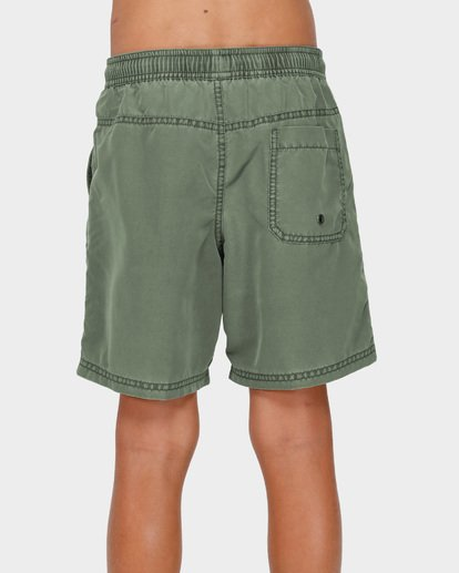 2 BOYS ALL DAY OVERDYE LAYBACK BOARDSHORTS Green 8572439 Billabong