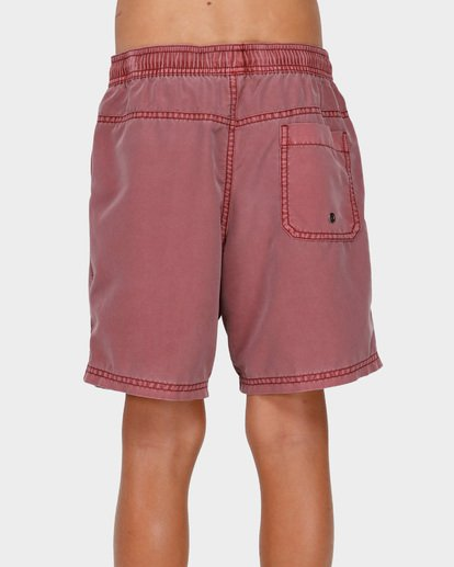 2 Boys All Day Overdye Layback Boardshorts Pink 8572439 Billabong