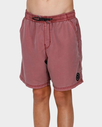 1 BOYS ALL DAY OVERDYE LAYBACK BOARDSHORTS Pink 8572439 Billabong