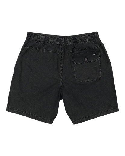 5 Boys 8-16 Mario Stretch Elastic Shorts Black 8572716 Billabong