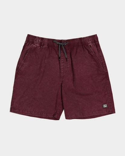 9 TEEN MARIO STRETCH ELASTIC BOARDSHORT Red 8572716 Billabong