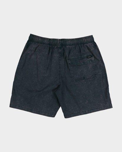 10 BOYS MARIO STRETCH ELASTIC WALKSHORTS Blue 8572716 Billabong