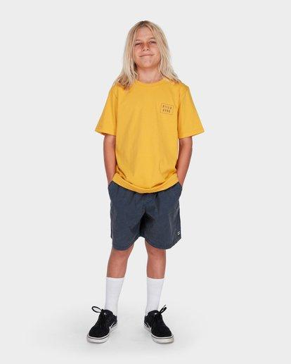 11 BOYS MARIO STRETCH ELASTIC WALKSHORTS Blue 8572716 Billabong