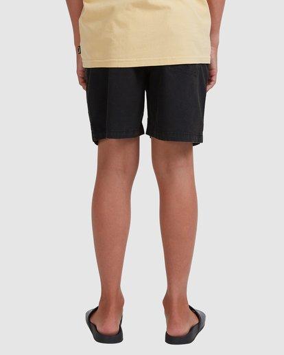 2 Boys 8-16 Mario Stretch Elastic Shorts Black 8572716 Billabong