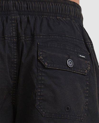 3 Boys 8-16 Mario Stretch Elastic Shorts Black 8572716 Billabong