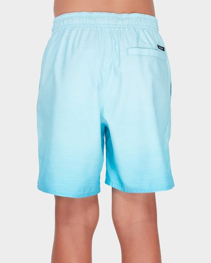 2 TEEN SERGIO LAYBACK BOARDSHORT Green 8581417 Billabong
