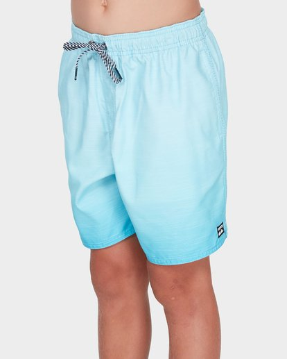 1 TEEN SERGIO LAYBACK BOARDSHORT Green 8581417 Billabong
