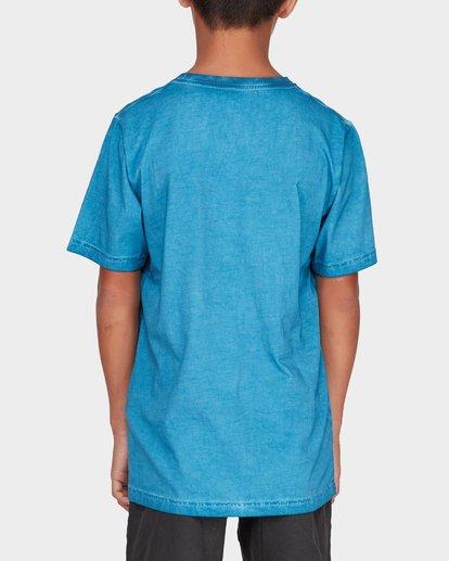 2 TEEN WAVE WASH TEE Blue 8582037 Billabong