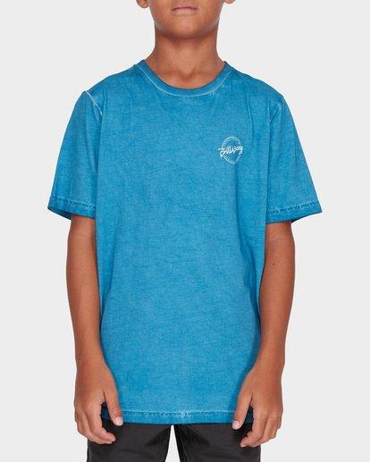 0 TEEN WAVE WASH TEE Blue 8582037 Billabong
