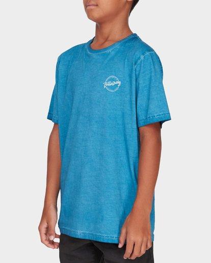 1 TEEN WAVE WASH TEE Blue 8582037 Billabong