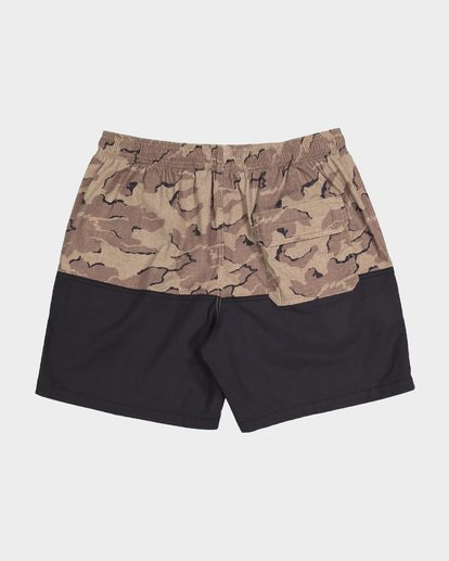 10 TEEN SPLIT STRETCH WALKSHORT Camo 8582704 Billabong
