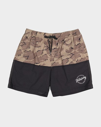 9 TEEN SPLIT STRETCH WALKSHORT Camo 8582704 Billabong