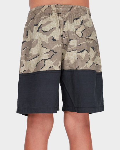 2 TEEN SPLIT STRETCH WALKSHORT Camo 8582704 Billabong