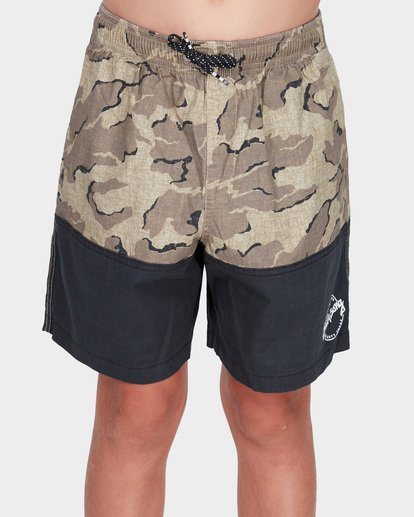 0 TEEN SPLIT STRETCH WALKSHORT Camo 8582704 Billabong