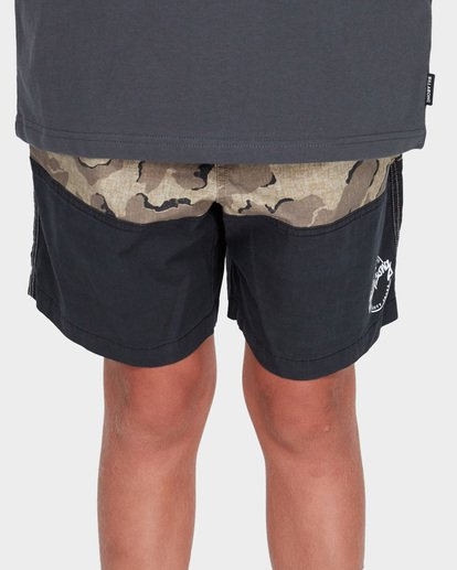 3 TEEN SPLIT STRETCH WALKSHORT Camo 8582704 Billabong