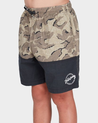 1 TEEN SPLIT STRETCH WALKSHORT Camo 8582704 Billabong