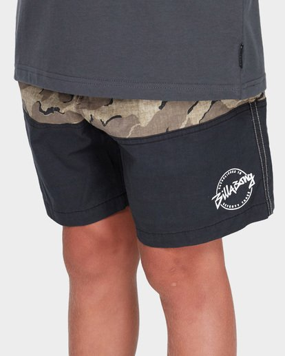 4 TEEN SPLIT STRETCH WALKSHORT Camo 8582704 Billabong