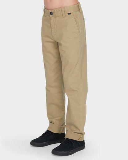 1 Teen New Order Chino Roll Up Grey 8585303 Billabong