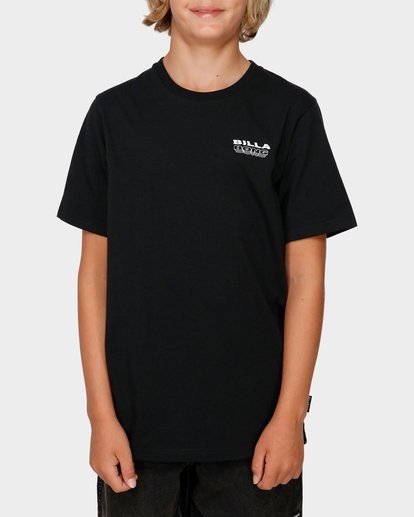 0 BOYS UNDER CUT TEE Black 8591005 Billabong