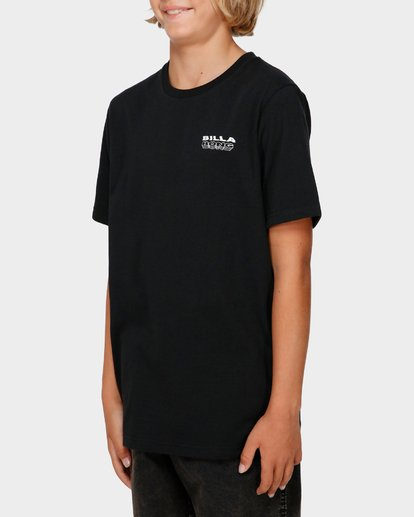 2 BOYS UNDER CUT TEE Black 8591005 Billabong