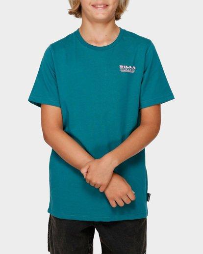0 BOYS UNDER CUT TEE Green 8591005 Billabong