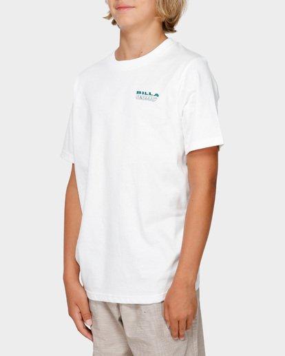 2 BOYS UNDER CUT TEE White 8591005 Billabong