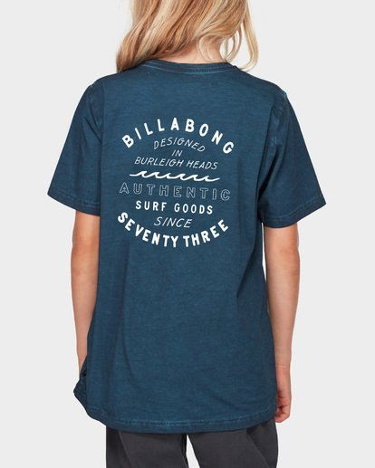 3 Boys Type Wave Tee Blue 8591007 Billabong