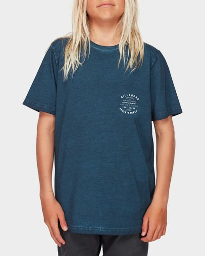 1 Boys Type Wave Tee Blue 8591007 Billabong