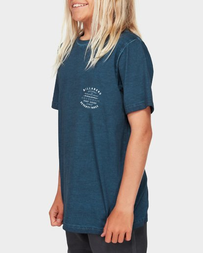 2 Boys Type Wave Tee Blue 8591007 Billabong