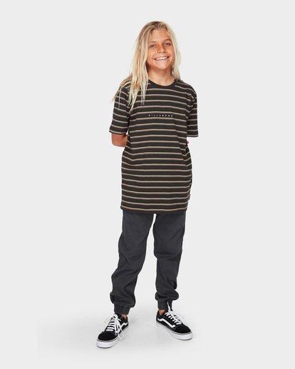 5 Boys Indie Stripe Black 8591016 Billabong
