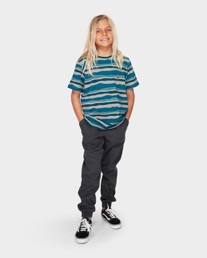 5 Boys Tear Stripe Blue 8591018 Billabong