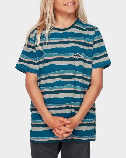 0 Boys Tear Stripe Blue 8591018 Billabong