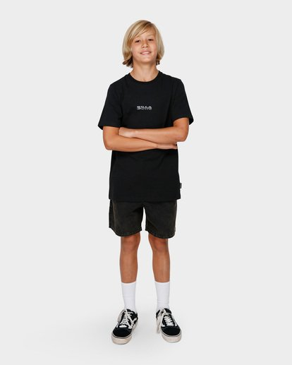 6 Boys Serpent Of Chaos Tee Black 8591025 Billabong