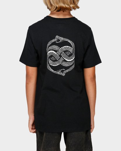 3 Boys Serpent Of Chaos Tee Black 8591025 Billabong