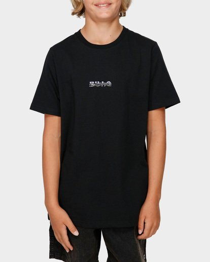 1 Boys Serpent Of Chaos Tee Black 8591025 Billabong