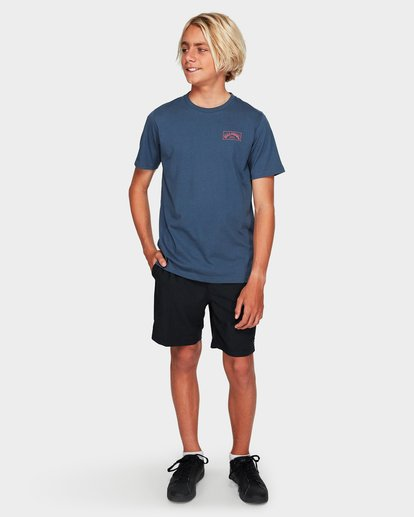 4 Boys Boxed Arch T Grey 8591051 Billabong