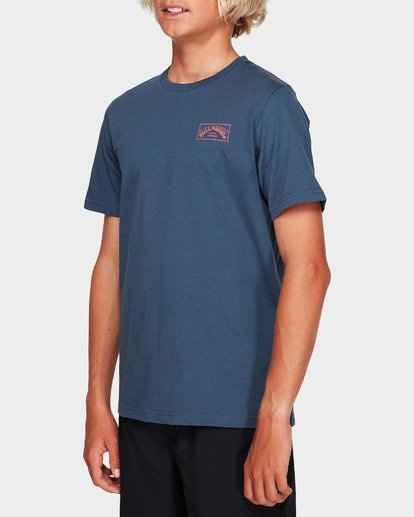 1 Boys Boxed Arch T Grey 8591051 Billabong