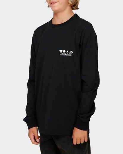 2 Boys Undercut Long Sleeve Tee Black 8591174 Billabong