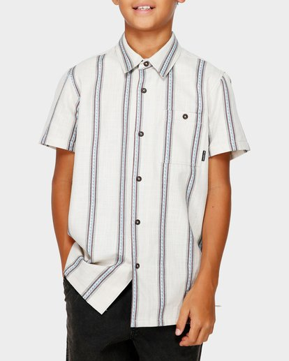 0 TEEN SUNDAY JACQUARD SHIRT White 8591203 Billabong
