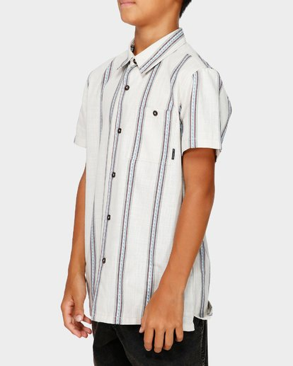 2 TEEN SUNDAY JACQUARD SHIRT White 8591203 Billabong
