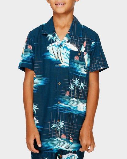 1 Teen Vacay Printed Shirt Blue 8591212 Billabong