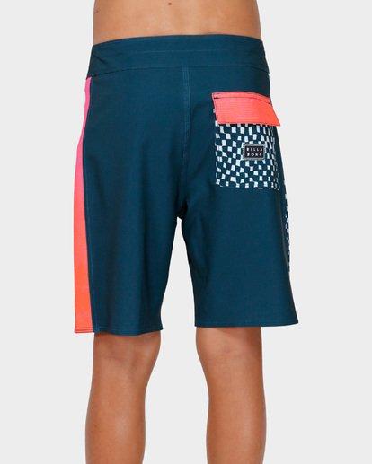 3 Teens D Bah Pro Boardshorts Blue 8591407 Billabong