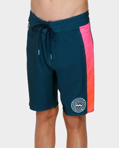 1 Teens D Bah Pro Boardshorts Blue 8591407 Billabong