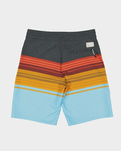 4 BOYS SPINNER LO TIDE BOARDSHORTS Blue 8591438 Billabong